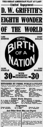 Birth of a Nation Newspaper