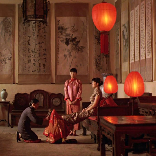 the lifestyles in china in the movie raise the red lantern Raise the red lantern  which depicts the travails of a concubine who has just joined the household of a rich family in northern china during  internet movie .